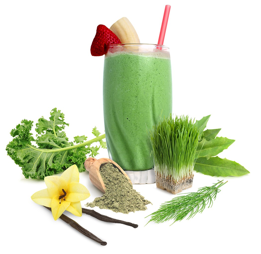 Hỗn hợp sinh tố supergreen & protein raw organic Sunfood 227g