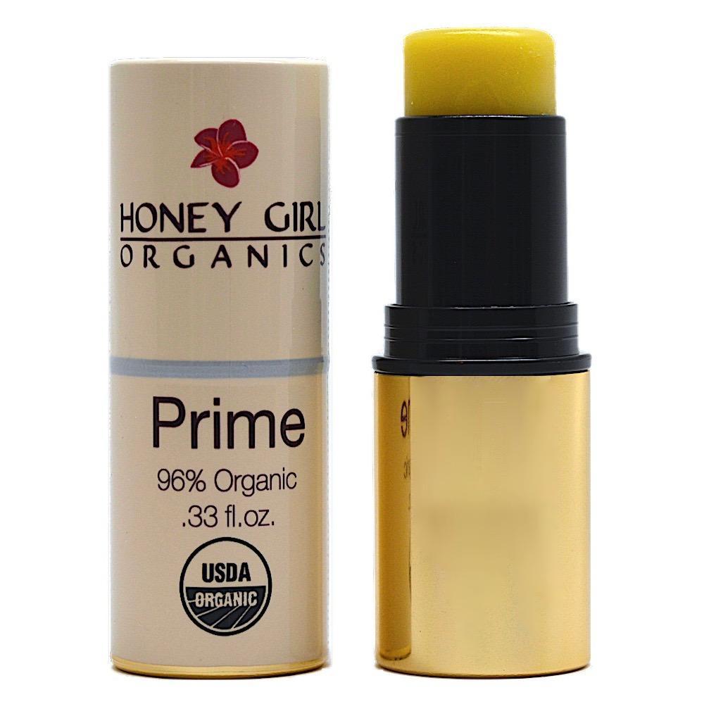 Thanh lót dưỡng ẩm tức thì dành cho trang điểm Prime organic Honey Girl Organics 7.5ml