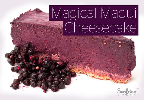 Bột maqui berry raw organic Sunfood 113g