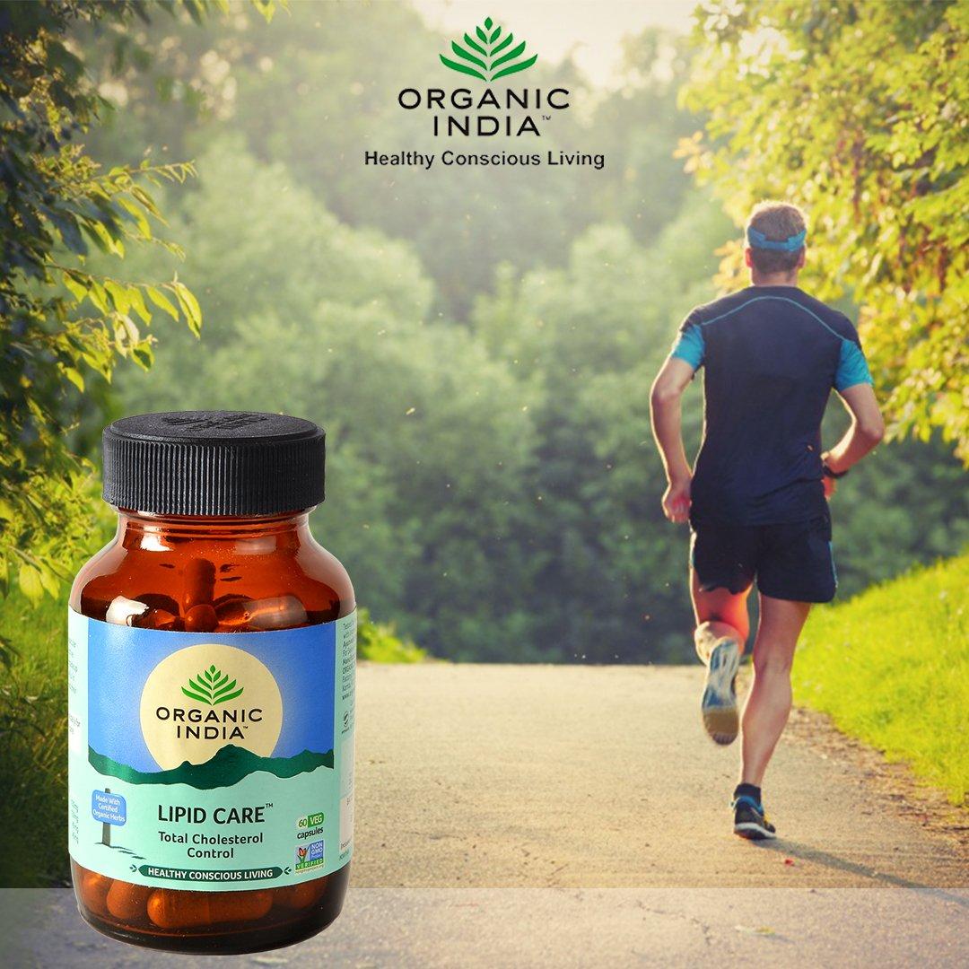 Viên uống kiểm soát cholesterol lipidcare organic India 60 viên