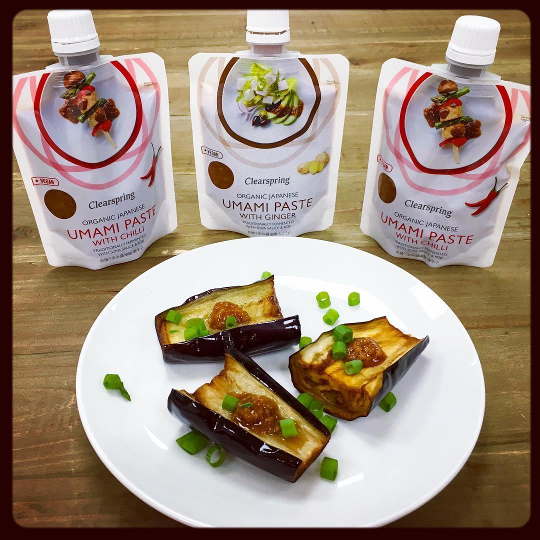 Gói nêm umami Nhật với gừng organic Clearspring 150g