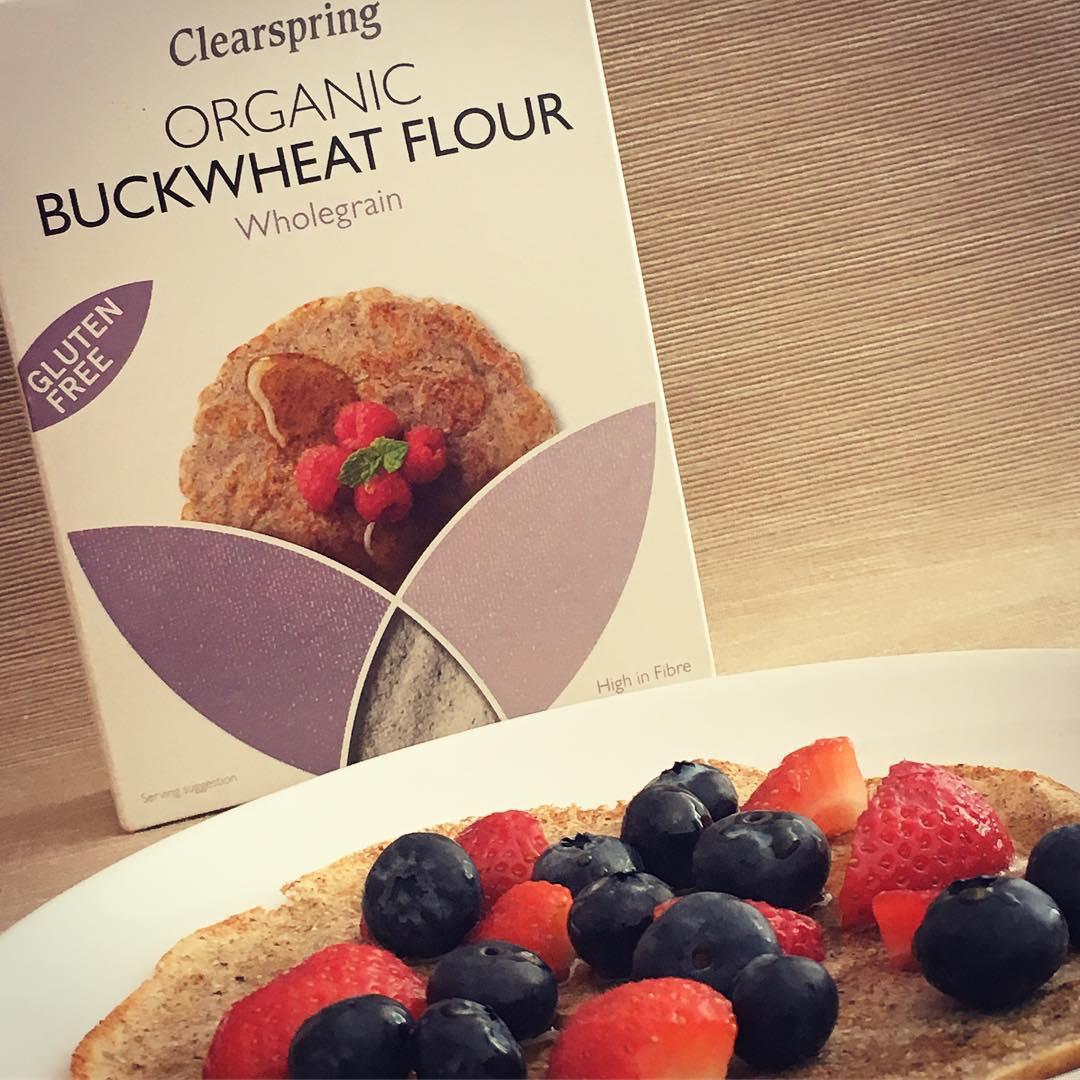 Bột kiều mạch không gluten organic Clearspring 375g