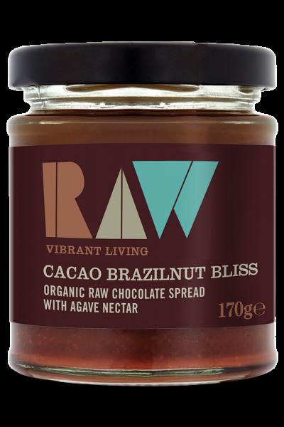 Bơ cacao hạt hạch Brazil organic Raw 170g