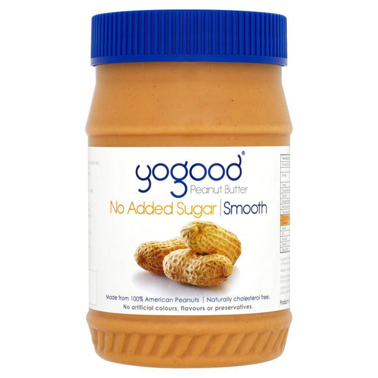 Bơ đậu phộng mềm không đường Yogood 453g