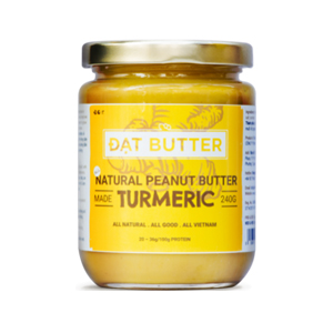 Natural peanut butter with turmeric DatButter 150g