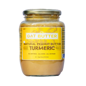 Natural peanut butter with turmeric DatButter 500g