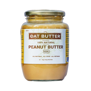 Natural 100% peanut butter DatButter 500g