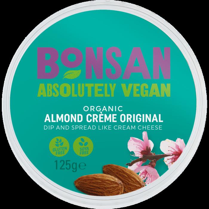 Bơ hạnh nhân organic Bonsan 125g
