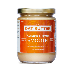 Natural cashew butter smooth DatButter 240g