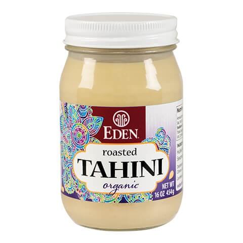 Bơ mè Tahini tách vỏ organic Eden 454g