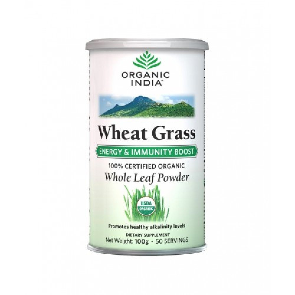 Wheatgrass powder organic India 100g