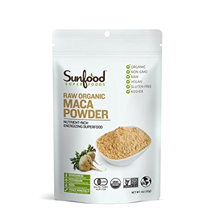 Raw organic maca powder Sunfood 113g