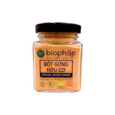 Bột gừng hữu cơ Biophap 80g
