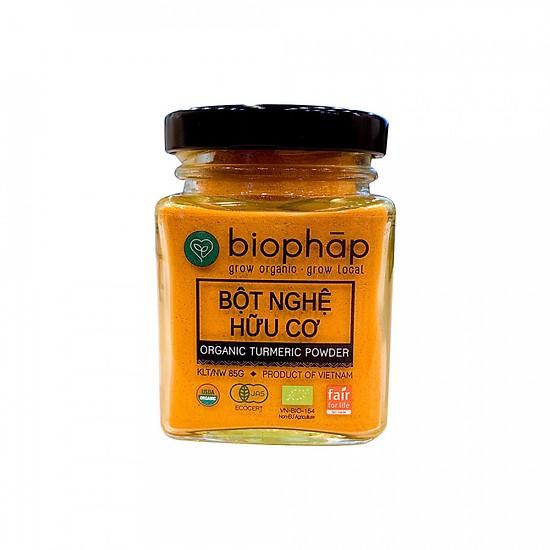 Bột nghệ hữu cơ Biophap 125g
