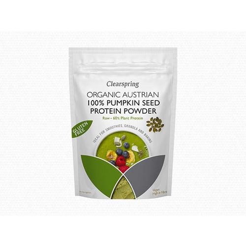 Bột protein hạt bí organic Clearspring 350g