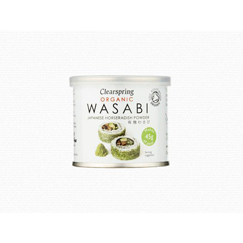 Bột wasabi cải ngựa horseradish Nhật organic Clearspring 25g