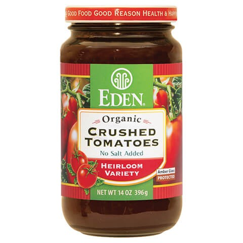 Cà chua nghiển organic Eden 396g