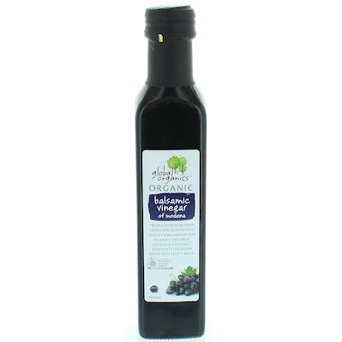 Dấm balsamic organic Global Organics 250ml