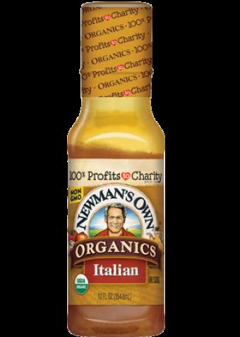 Dấm sốt salad kiểu Ý organic NewMansOwn 354ml
