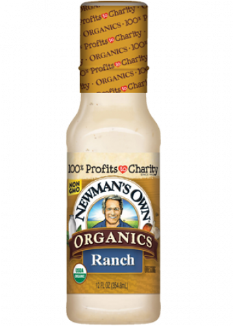 Dấm sốt salad ranch organic NewMansOwn 354ml