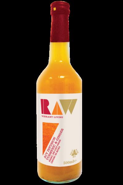 Dấm tào nghệ gừng organic Raw 500ml