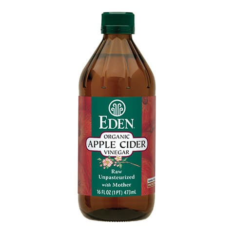 Organic apple cider vinegar Eden 473ml