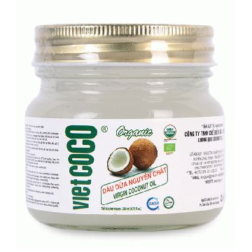 Organic virgin coconut oil Vietcoco 200ml