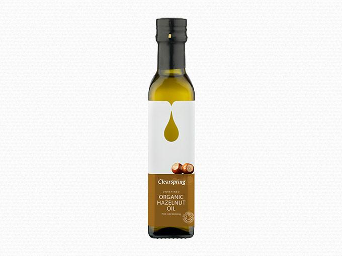 Dầu hạt phỉ hazelnut organic Clearspring 250ml