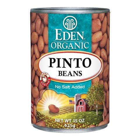 Đậu pinto lon organic Eden 425g