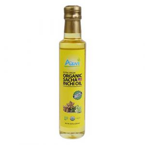 Dầu sacha inchi extra virgin organic Amvi 250ml