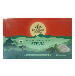Đường cỏ ngọt stevia Organic India 25g/ 25 gói