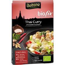 Gia vị cho món cà ri Thái hữu cơ Beltane 21g