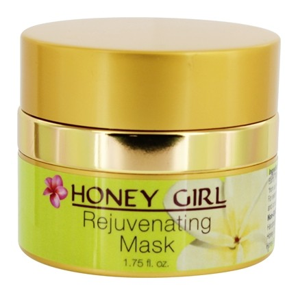 Rejuvenating mask green clay algae Honey Girl Organics 50ml