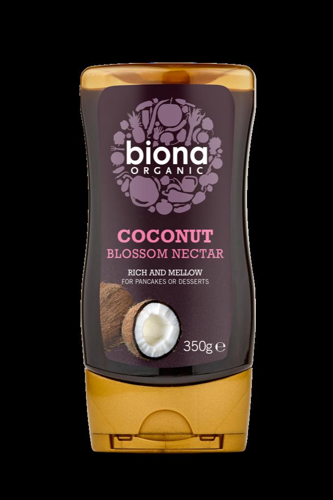 Mật hoa dừa coconut blossom nectar organic Biona 350g