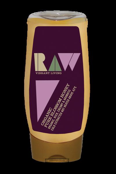 Mật ong nguyên chất organic Raw 350g