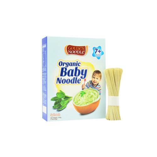 Mì dành cho bé vị cải bó xôi organic Golden Noodle 200g