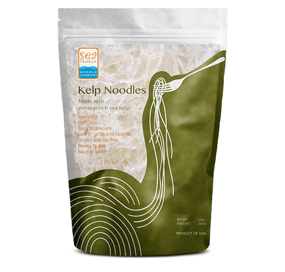 Mì tảo bẹ kelp noodle SeaTangle 340g
