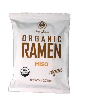 Miso mì ramen ăn liền hữu cơ Muso 116g