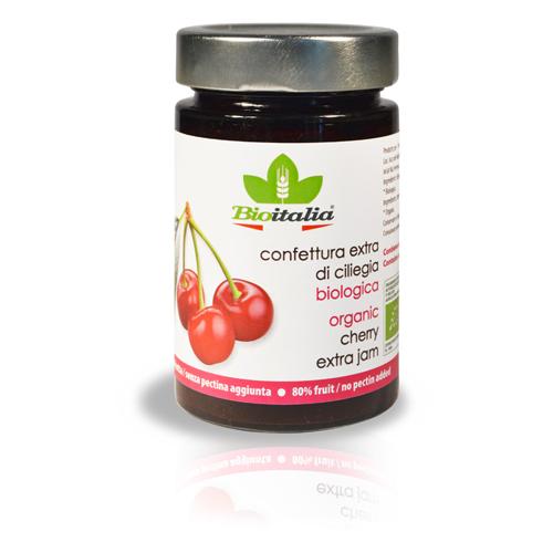 Mứt quả anh đào cherry organic BioItalia 240g
