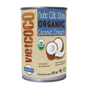 Organic coconut cream Vietcoco 400ml