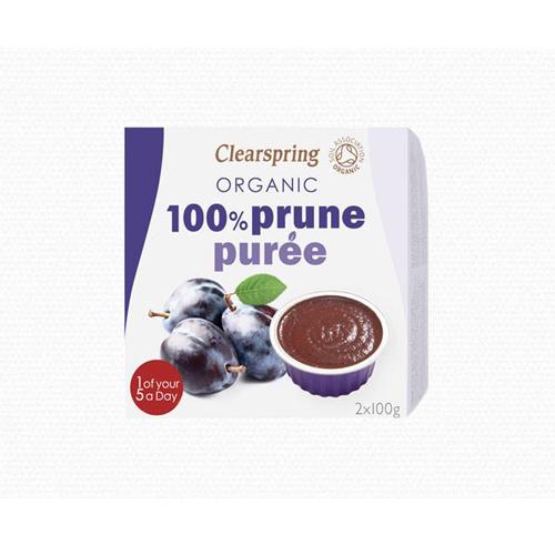 Mận nghiền prune puree organic Clearspring 200g