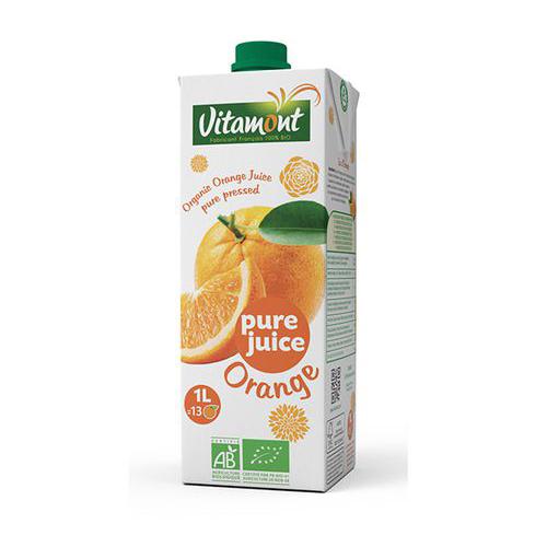 Nước ép cam organic Vitamont 1L