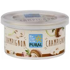 Pate chay nấm hữu cơ Pural 125g