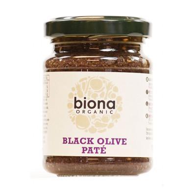Pate oliu đen organic Biona 120g