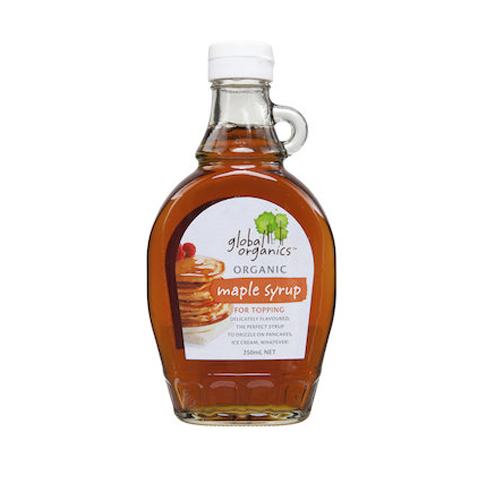 Si rô lá phong organic Global Organics 250ml