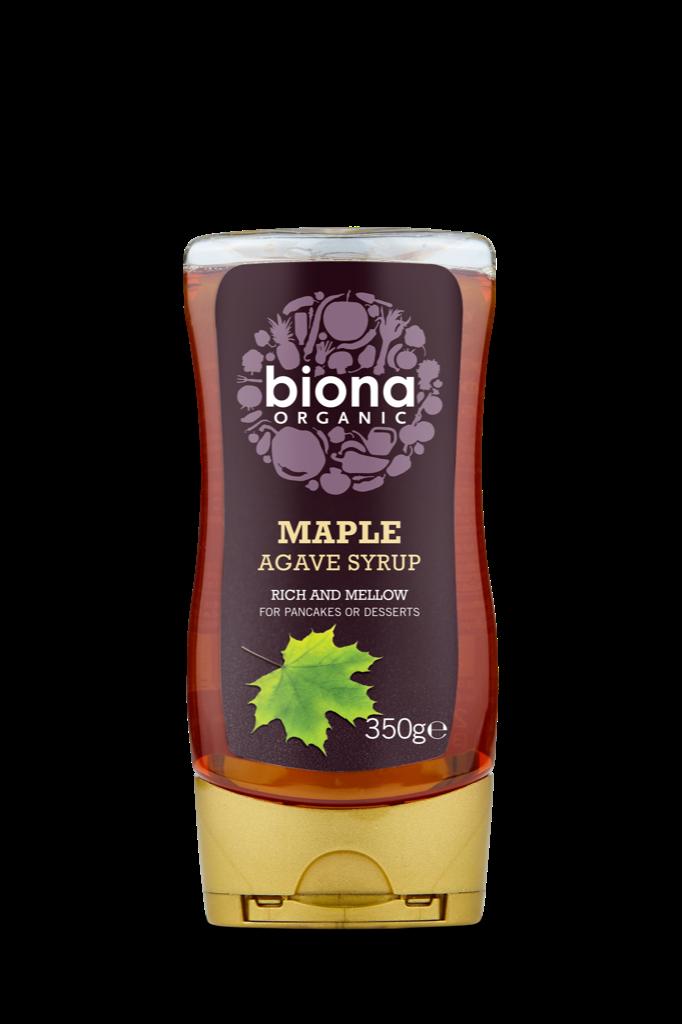 Si rô lá phong và cây thùa organic Biona 350g