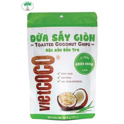 Toasted coconut chips onion Vetcoco 45g