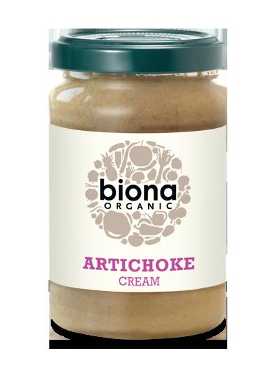 Sốt kem atiso organic Biona 180g