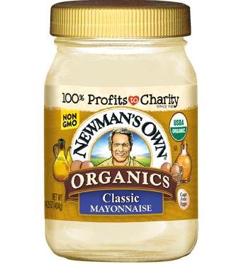Sốt mayonnaise classic organic NewMansOwn 440g