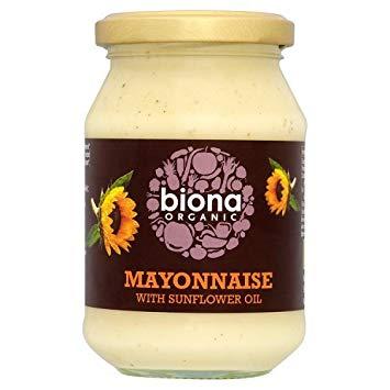 Sốt mayonnaise dầu hướng dương organic Biona 230g
